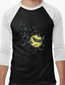 Bat Swarm (Shirt) Men's Baseball ¾ T-Shirt