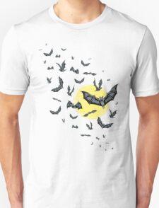 Bat Swarm (Shirt) Unisex T-Shirt