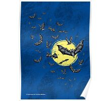 Bat Swarm (Shirt) Poster
