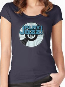 Play Jazz Women's Fitted Scoop T-Shirt