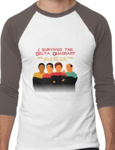 Voyages in the Delta Quadrant Men's Baseball ¾ T-Shirt