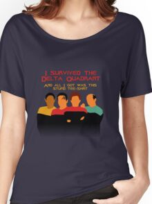 Voyages in the Delta Quadrant Women's Relaxed Fit T-Shirt