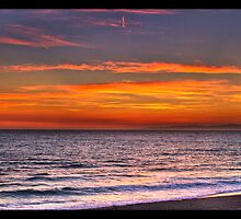 Sunset in Redondo Beach 3 by Phil Becker