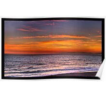 Sunset in Redondo Beach 3 Poster