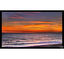 Sunset in Redondo Beach 3 Photographic Print