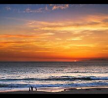 Sunset in Redondo Beach by Phil Becker