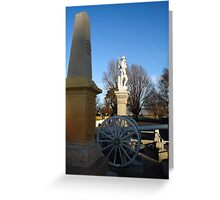 Cenotaph at Ross Greeting Card