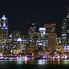 Seattle Skyline at Night by skreklow