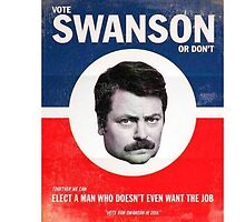 Vote Ron Swanson by m3160