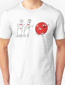 Ten Pins Turn the Tables T-Shirt