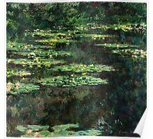 Claude Monet - Water-Lilies  Poster