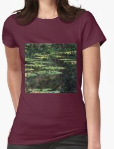 Claude Monet - Water-Lilies  Womens Fitted T-Shirt