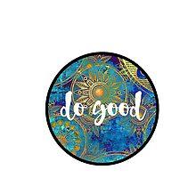 Do Good Sticker by Kristin Sheaffer