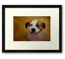 Smile...It Makes People Wonder What You're Up To Framed Print
