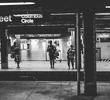 Waiting for the Subway by Wanagi Zable-Andrews
