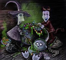 The Nightmare Before Christmas - Snake and Spider Stew by Miki Ivey