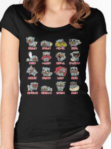 Guts la Kill • ガッツラキル Women's Fitted Scoop T-Shirt