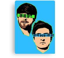 PopBestFriends Canvas Print