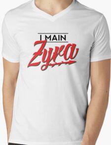 I Main Zyra Mens V-Neck T-Shirt