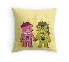 Sam & Suzy Throw Pillow
