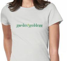 green garden goddess Womens Fitted T-Shirt
