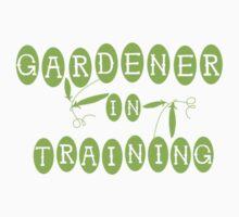 trainee gardener Kids Tee