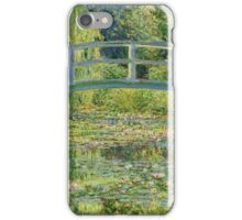 Claude Monet - Water-Lily Pond iPhone Case/Skin