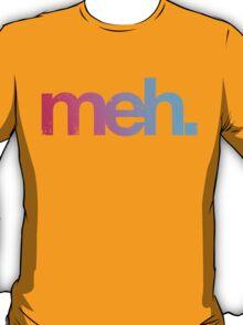 meh - pink-blue T-Shirt