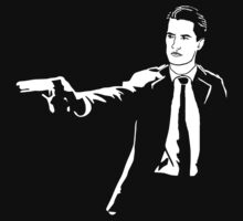Dale Cooper Pulp Fiction by Titius