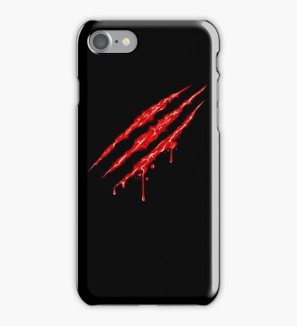 Claw Marks  iPhone Case/Skin