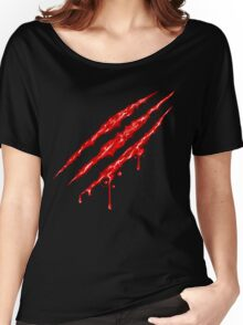 Claw Marks  Women's Relaxed Fit T-Shirt