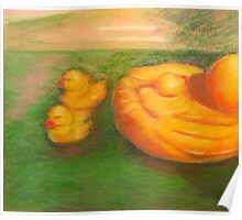 Duck Toy Family Poster