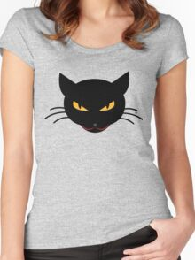 Evil Kitty Women's Fitted Scoop T-Shirt