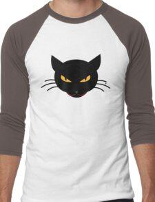 Evil Kitty Men's Baseball ¾ T-Shirt