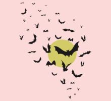 Bat Swarm Baby Tee