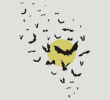 Bat Swarm by _ VectorInk