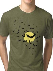 Bat Swarm Tri-blend T-Shirt