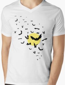 Bat Swarm Mens V-Neck T-Shirt