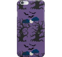 Dancing and smiling fantasy trees iPhone Case/Skin