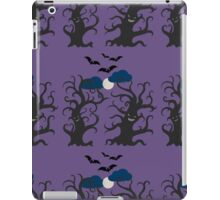 Dancing and smiling fantasy trees iPad Case/Skin