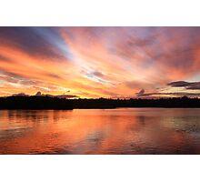fire sky ... Photographic Print