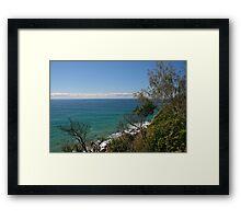 Sunshine Coast Seascape Framed Print