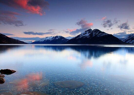 Lake Wakatipu Sunset by Cameron B