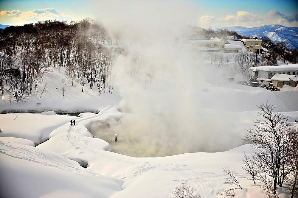 Goshiki Natural Hot Springs in Niseko by Neil Hartmann