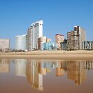 Durban Beach Front by Llawphotography