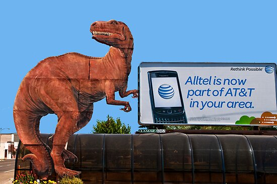 AT&T-Rex Ate Chad by Bryan D. Spellman