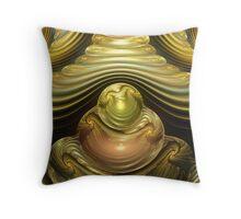 Gem Swirls Throw Pillow