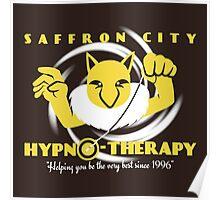 Saffron City Hypno-Therapy Poster