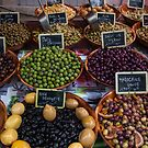 France. La Rochelle. Olives at the Market. by vadim19