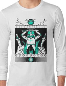 Castle Crashers - Heraldry of the Green Knight Long Sleeve T-Shirt